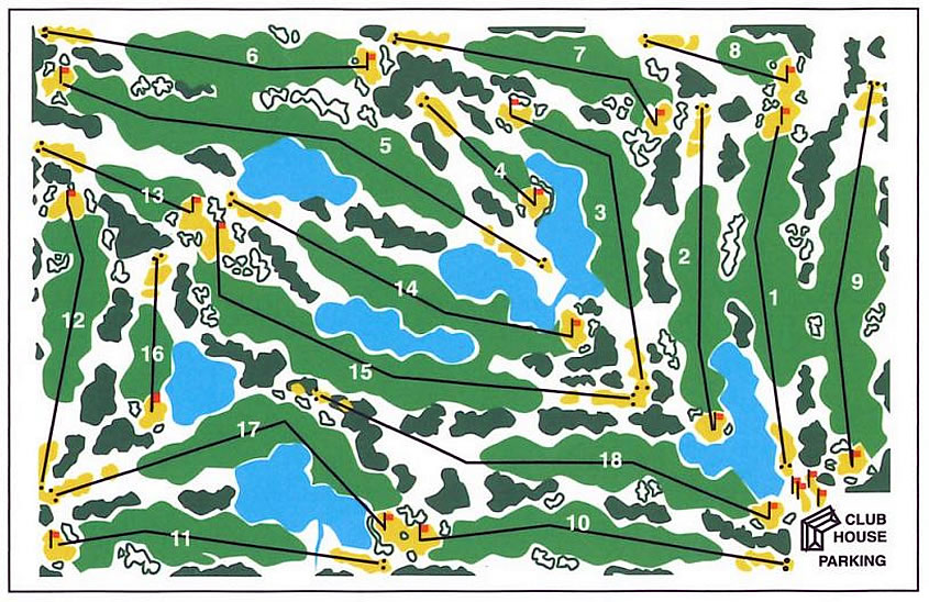 Kelowna Springs Course Map