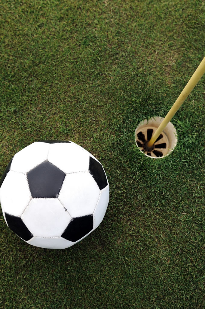 Foot Golf at Kelowna Springs